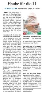 Hannebambel im Gespräch mit der Allgemeinen Zeitung