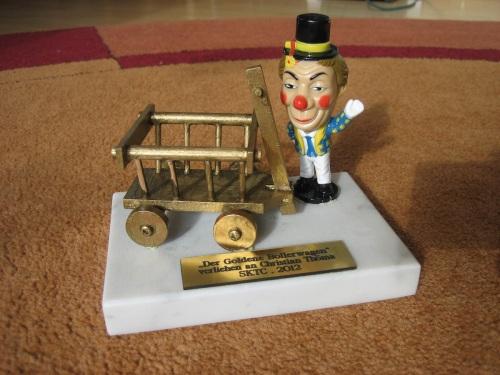Der Goldene Bollerwagen