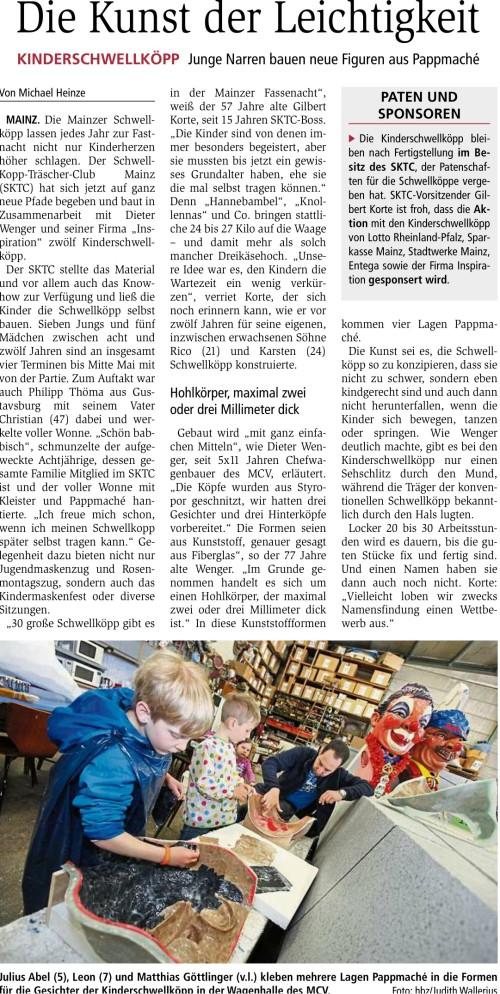 2017-05-08_Allgemeine_Zeitung_Mainz_Die_Kunst_der_Leichtigkeit