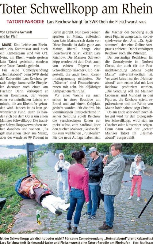2018-08-31_Allgemeine_Zeitung_Mainz_Toter_Schwellkopp_am_Rhein